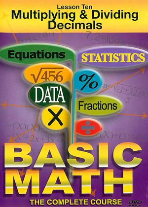 Rent Basic Math: Multiplying and Dividing Decimals Online DVD & Blu-ray Rental