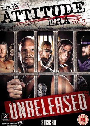 Rent WWE: The Attitude Era: Vol.3: Unreleased Online DVD & Blu-ray Rental