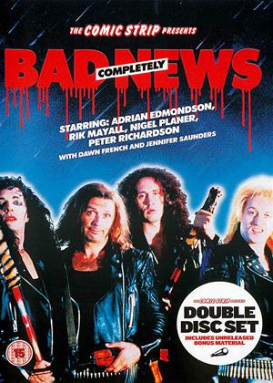 Rent The Comic Strip Presents: Bad News: Completely Online DVD & Blu-ray Rental