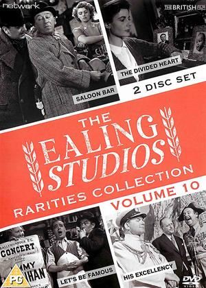 Rent The Ealing Studios Rarities Collection: Vol.10 (aka Let's Be Famous / The Divided Heart / His Excellency / Saloon Bar) Online DVD & Blu-ray Rental