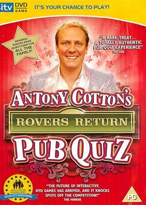 Rent Anthony Cotton's Rovers Return: Pub Quiz Online DVD & Blu-ray Rental