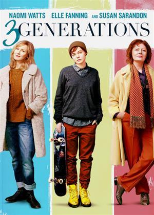Rent 3 Generations (aka About Ray / Three Generations) Online DVD & Blu-ray Rental