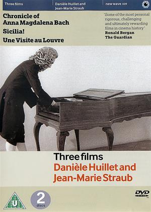 Rent Three Films by Jean-Marie Straub and Daniele Huillet (aka Chronicle of Anna Magdalena Bach (1967) / Sicilia! (1998) / Une Visite au Louvre (2004))) Online DVD & Blu-ray Rental