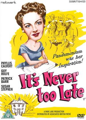 Rent It's Never Too Late Online DVD & Blu-ray Rental