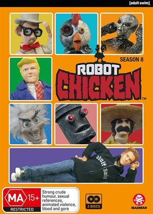Rent Robot Chicken: Series 8 Online DVD & Blu-ray Rental