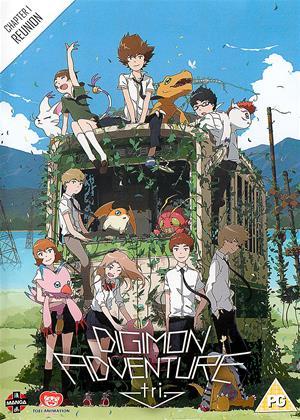 Rent Digimon Adventure Tri: Part 1: Reunion (aka Digimon Adventure tri. Saikai) Online DVD & Blu-ray Rental
