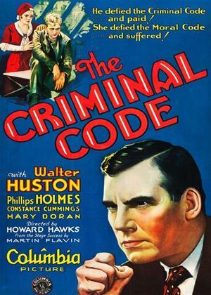 Rent The Criminal Code Online DVD & Blu-ray Rental