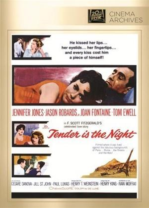 Rent Tender Is the Night Online DVD & Blu-ray Rental
