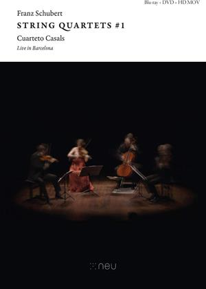 Rent Franz Schubert String Quartets #1: Live in Barcelona Online DVD & Blu-ray Rental