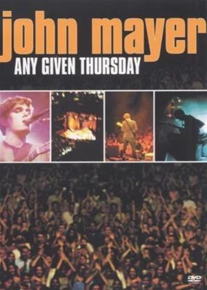 Rent John Mayer: Any Given Thursday Online DVD & Blu-ray Rental