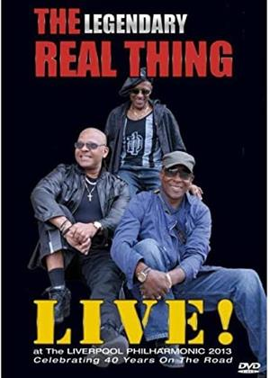 Rent The Legendary Real Thing: Live! (aka The Real Thing: Live Ath the Liverpool Philharmonic 2013) Online DVD & Blu-ray Rental