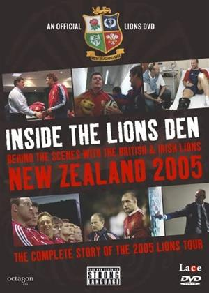 Rent New Zealand 2005: Inside the Lions Den Online DVD & Blu-ray Rental