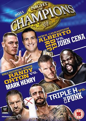Rent WWE: Night of Champions 2011 Online DVD & Blu-ray Rental