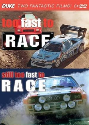 Rent Too Fast to Race / Still Too Fast to Race Online DVD & Blu-ray Rental