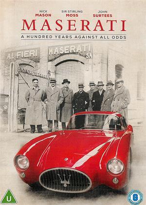 Rent Maserati (aka Maserati: A Hundred Years Against All Odds) Online DVD & Blu-ray Rental