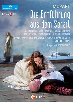 Rent Die Entfuhrung Aus Dem Serail: Gran Teatre Del Liceu (Ivor Bolton) Online DVD & Blu-ray Rental