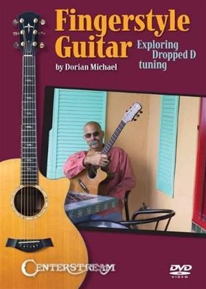 Rent Fingerstyle Guitar: Exploring Dropped D Tuning Intermediate Online DVD & Blu-ray Rental