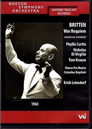 Rent Benjamin Britten: War Requiem (Erich Leinsdorf) Online DVD & Blu-ray Rental