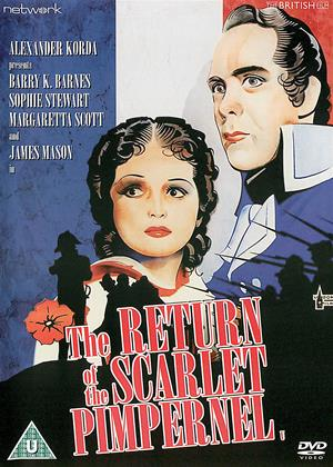 Rent The Return of the Scarlet Pimpernel Online DVD & Blu-ray Rental