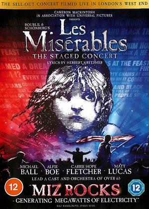 Rent Les Misérables: The Staged Concert Online DVD & Blu-ray Rental