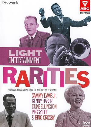 Rent Light Entertainment Rarities (aka Sammy Davis in England / Steamboat Shuffle / The Peggy Lee Show / Duke Ellington - A Concert of Sacred Music) Online DVD & Blu-ray Rental