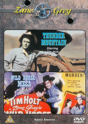 Rent Thunder Mountain / Wild Horse Mesa Online DVD & Blu-ray Rental