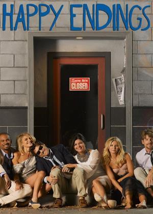 Rent Happy Endings: Series 3 Online DVD & Blu-ray Rental