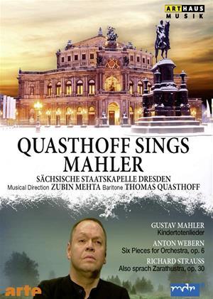 Rent Quasthoff Sings Mahler Online DVD & Blu-ray Rental