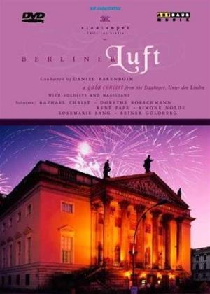 Rent Berliner Luft: New Year's Concert (Daniel Barenboim) Online DVD & Blu-ray Rental