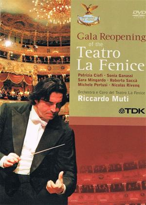Rent Reopening Gala from Teatro La Fenice (Riccardo Muti) Online DVD & Blu-ray Rental