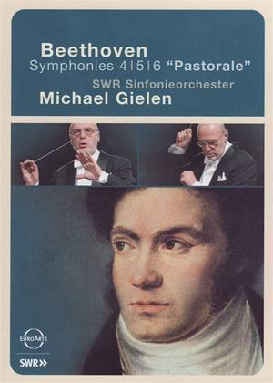 Rent Beethoven: Symphonies Nos. 4, 5 and 6: Pastorale (Michael Gielen) Online DVD & Blu-ray Rental