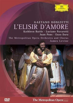 Rent Donizetti: L'Elisir D'Amore: The Metropolitan Opera (James Levine) Online DVD & Blu-ray Rental