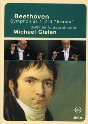 Rent Beethoven: Symphonies Nos. 1, 2 and 3: Eroica Online DVD & Blu-ray Rental