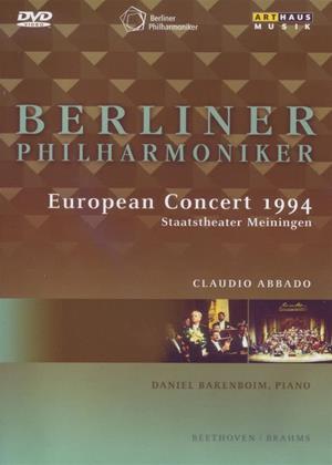 Rent European Concert 1994 (Claudio Abbado) Online DVD & Blu-ray Rental