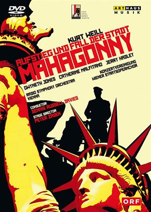 Rent Mahagonny: Wiener Staatsoper (Dennis Russell Davies) (aka Aufstieg Und Fall Der Stadt Mahagonny: Wiener Staatsoper (Dennis Russell Davies)) Online DVD & Blu-ray Rental