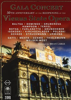 Rent Gala Concert Vienna State Opera (aka Vienna State Opera Gala: Gala Concert 50th Anniversary of the Re-opening) Online DVD & Blu-ray Rental