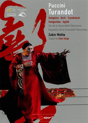 Rent Turandot: Palau De Les Arts Valencia (Zubin Mehta) Online DVD & Blu-ray Rental