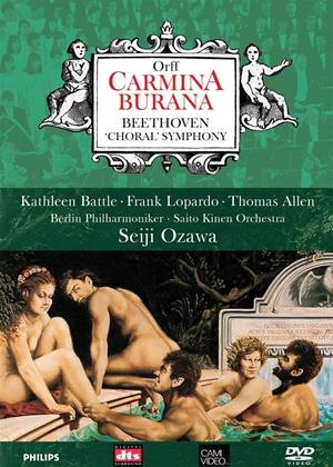 Rent Carl Orff: Carmina Burana / Beethoven: Symphony No. 9 (Seiji Ozawa) Online DVD & Blu-ray Rental