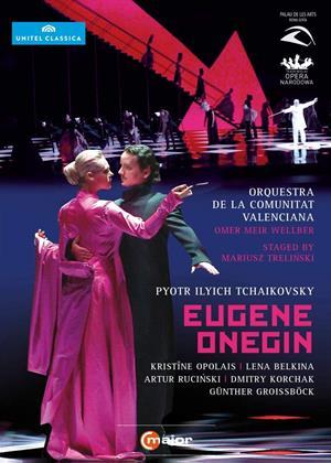 Rent Eugene Onegin: Paleau de les Arts Valencia (Omer Meir Wellber) Online DVD & Blu-ray Rental