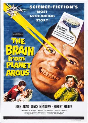 Rent The Brain from Planet Arous / Teenage Monster Online DVD & Blu-ray Rental