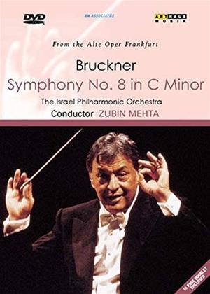 Rent Anton Bruckner: Symphony No. 8: Israel Philharmonic (Zubin Mehta) Online DVD & Blu-ray Rental