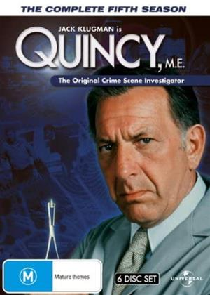 Rent Quincy M.E.: Series 5 Online DVD & Blu-ray Rental