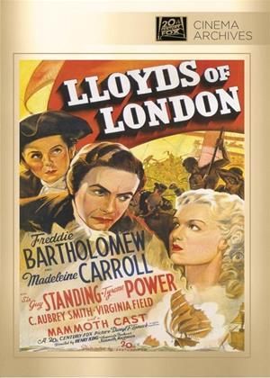 Rent Lloyds of London (aka Lloyd's of London) Online DVD & Blu-ray Rental
