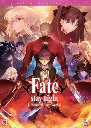 Rent Fate/Stay Night: Unlimited Blade Works: Series 2 Online DVD & Blu-ray Rental
