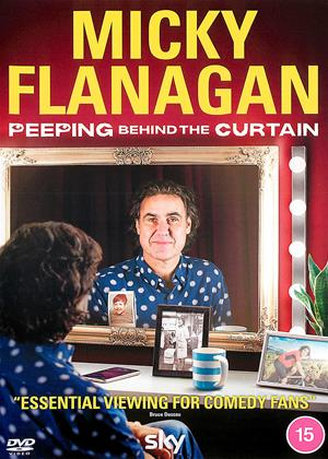 Rent Micky Flanagan: Peeping Behind the Curtain Online DVD & Blu-ray Rental