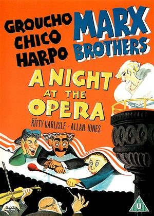 Rent The Marx Brothers: A Night at the Opera Online DVD & Blu-ray Rental