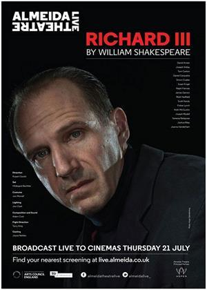 Rent Richard III (aka Richard III: Almeida Theatre) Online DVD & Blu-ray Rental