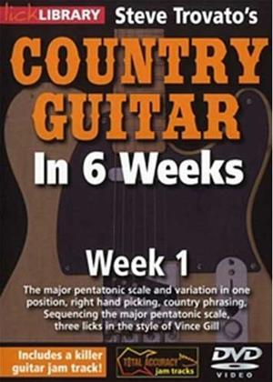 Rent Steve Trovato's Country Guitar in 6 Weeks: Week 1 Online DVD Rental