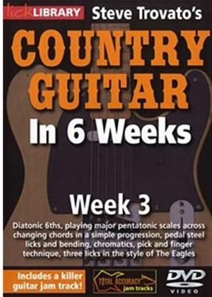 Rent Steve Trovato's Country Guitar in 6 Weeks: Week 3 Online DVD Rental