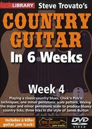 Rent Steve Trovato's Country Guitar in 6 Weeks: Week 4 Online DVD Rental